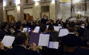 De muziekvereniging A.C.A.M. Van Baucina