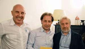 Piero Pellegrino, Stefano Zangara  Ninni Ravazza.