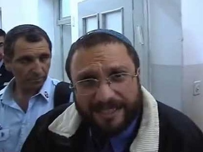 Extreme right wing Israeli settler, Noam Frederman. (Photo: Youtube video grab)