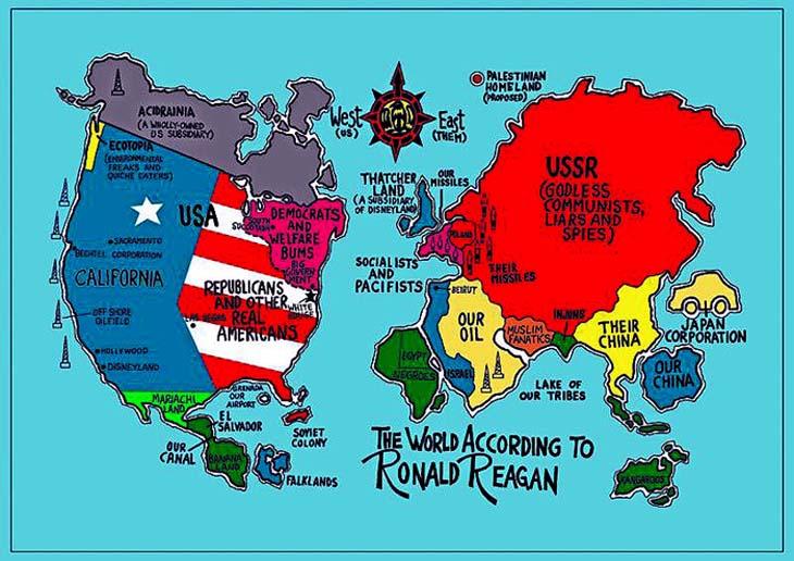 the world according to ronald reagan