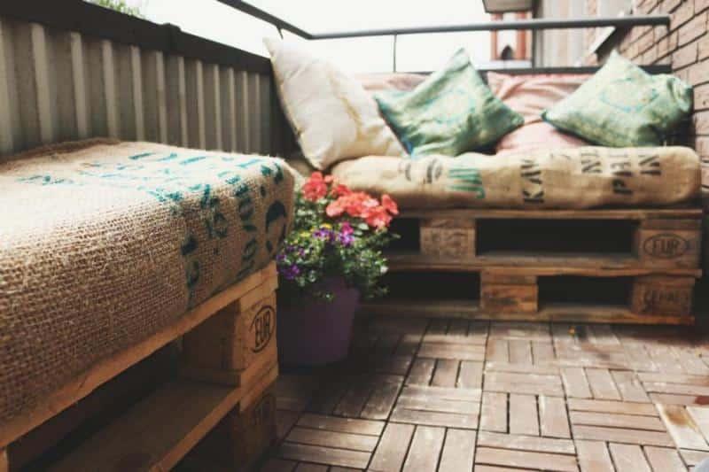 Balkonmbel  Terrassenmbel aus Paletten  DIY Anleitungen  Shop