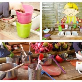 Palettery Collage Kinderküche 2