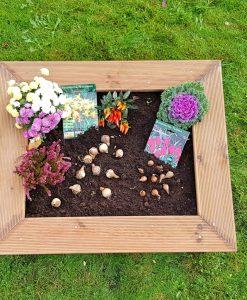 Palettery Blumen Hochbeet Kinder 5