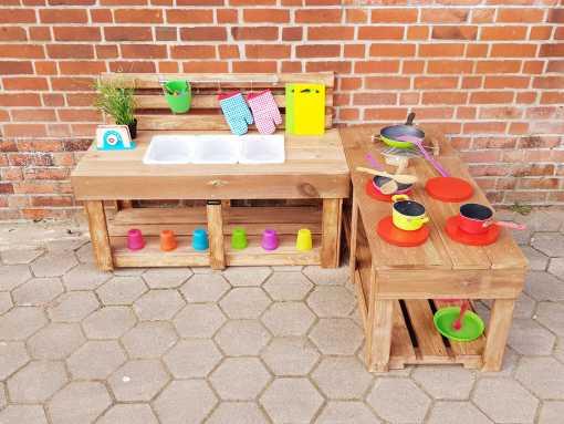 Matschküche Kinderküche aus Paletten Holz MMP 1 (12)