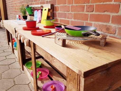 Matschküche Kinderküche aus Paletten Holz MMP 1 (7)