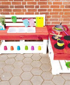 Matschküche-Kinderküche-aus-Paletten-Holz-MMP-Rot