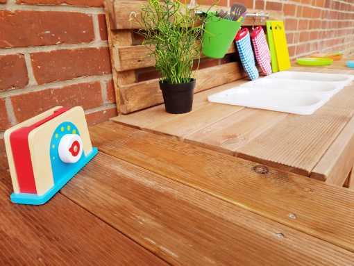 Matschküche Kinderküche aus Paletten Holz XLMP 1 (11)