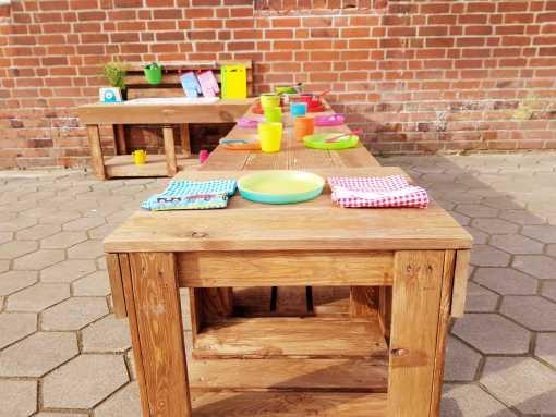 Matschküche Kinderküche aus Paletten Holz XLMP 1 (17)