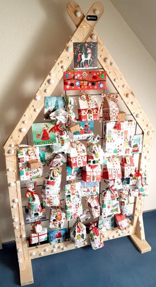 Paletten Design Dekowand Weihnachten