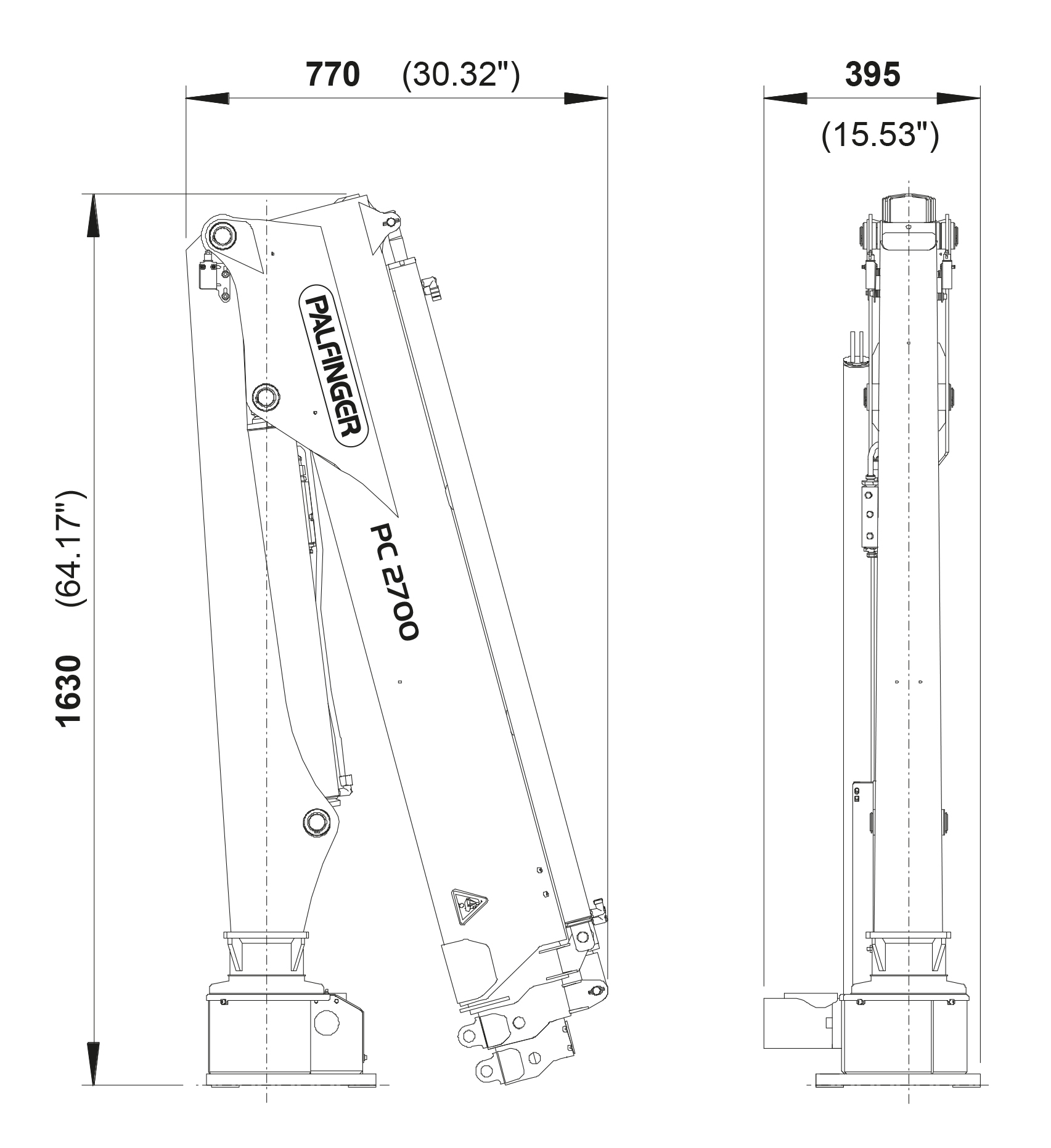 hight resolution of cranes shown in the leaflet are partially optional equipped and do not always correspond to the standard version country specific regulations must be