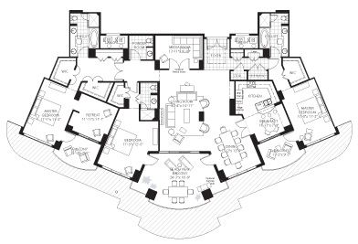 PENTHOUSE FLOORPLANS « Unique House Plans