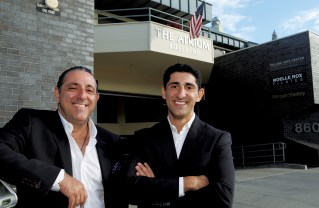 Kaymar and Joseph Shabani are the new owners of the Atrium building in Pacific Palisades. Photo: Bar tBartholomew