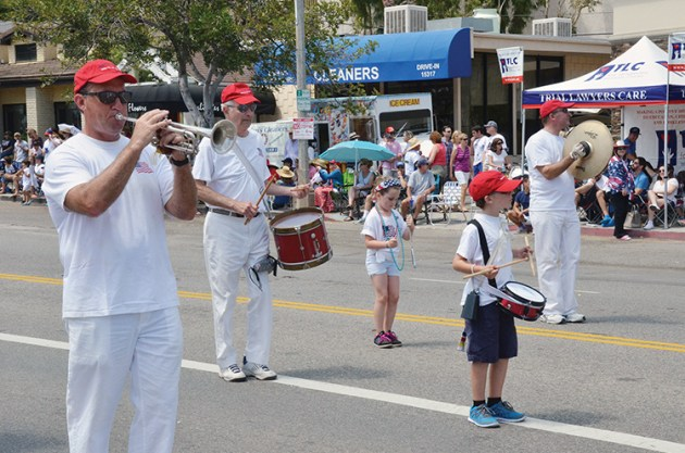 The Oom PaPa Marching Band is a home-spun favorite. Photo: Shelby Pascoe