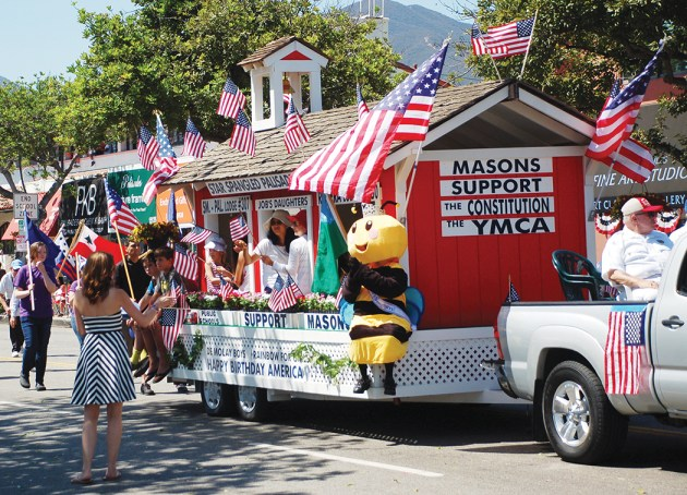 The Little Red Schoolhouse will once again be in the parade. Photo: Tom Hofer