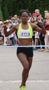 Renee Delphin-Rodriguez won the women's 5K.