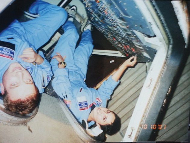 Marjan Rajabi attended NASA's space camp with the idea of becoming an astronaut. Photo courtesy Marjan Rajabi