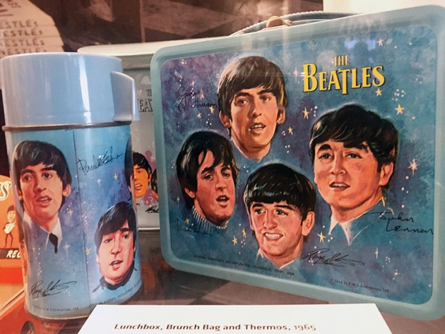 John Lennon, Paul McCartney, Ringo Starr and George Harrison, better known collectively as the Beatles.