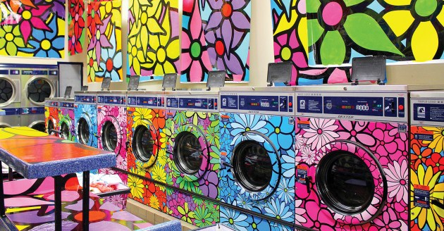 New York laundromat. Photo: Robin Erler
