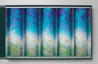 Shigeki Fukumoto, Double Refraction: Turquoise, (2005)