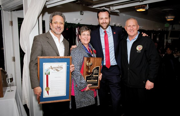 Citizen of the Year Daphne Gronich with Assemblyman Richard Bloom, State Senator Ben Allen and City Councilman Mike Bonin.