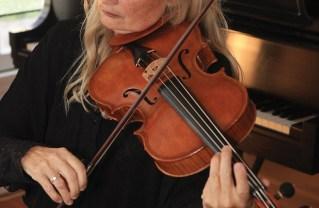 Rebecca Rodman has mastered the art of violin making. Photo: Bart Bartholomew
