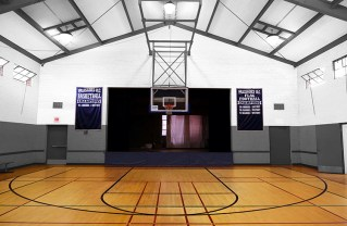 How the Palisades Recreation Center small gym could look after renovation.