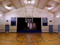 The Palisades Recreation Center small gym as it looks now.