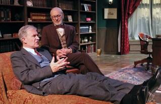 Martyn Stanbridge and Martin Rayner as C.S. Lewis and Sigmund Freud. Photo: Enci Box