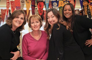 (Left to right) Diana Hurst, Ruth Grubb, Melissa Rangel and Karen Ellis are college counselors at Palisades High School. Photo: Bart Bartholomew