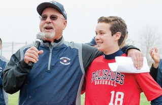 Matty Gottesman Sings the National Anthem at Pacific Palisades Baseball Association's Opening Ceremonies