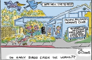 Cartoon: Do Early Birds Catch the Worms?