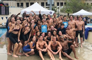 The Palisades High boys and girls teams both took first at the City Section swim finals.