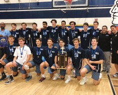 The Palisades High volleyball team won the CIF L.A. City Championship on Saturday.