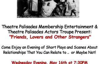 Theatre Palisades Group to Present Evening of Scenes and Short Plays
