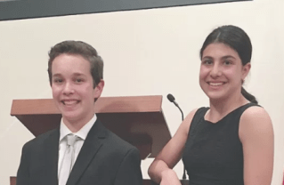 Julia Abbott Wins Palisades Optimist Oratorical Contest
