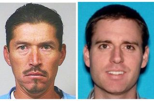 Anthony Rauda (left) has been charged with murdering Tristan Beaudette (right) who was camping with his daughters in Malibu Creek State Park. Photos: California Department of Corrections and Rehabilitation via AP/Anthony Rauda has been charged with murdering a man camping with his daughters in Malibu Creek State Park. Photos: California Department of Corrections and Rehabilitation via AP/Los Angeles County Sheriff's Department.
