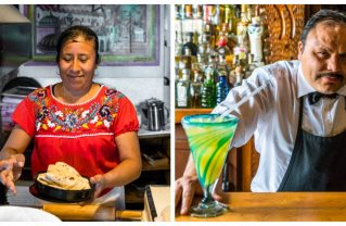 At Casablanca, come for the homemade tortillas, stay for the 375 varieties of tequila! Photos: Courtesy.
