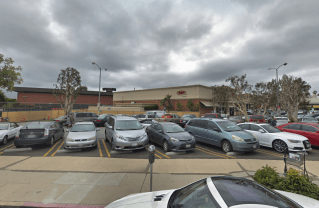 The Ralphs supermarket on the corner of Sunset and Carey where the incident occurred. Photo: Google.