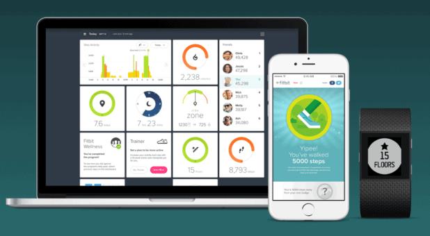 Fitbit app - Fitbit Surge arvostelu