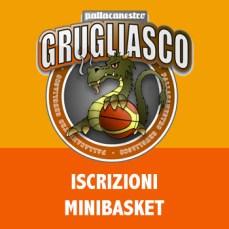 Iscrizione minibasket pallacanestro grugliasco
