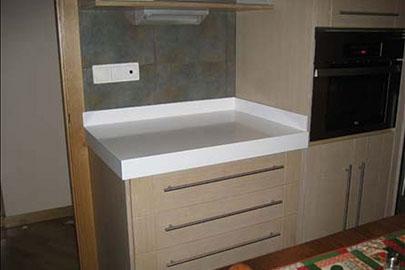 Encimeras a medida Cocina en cualquier material Lavabos para encimeras a medida A Corua