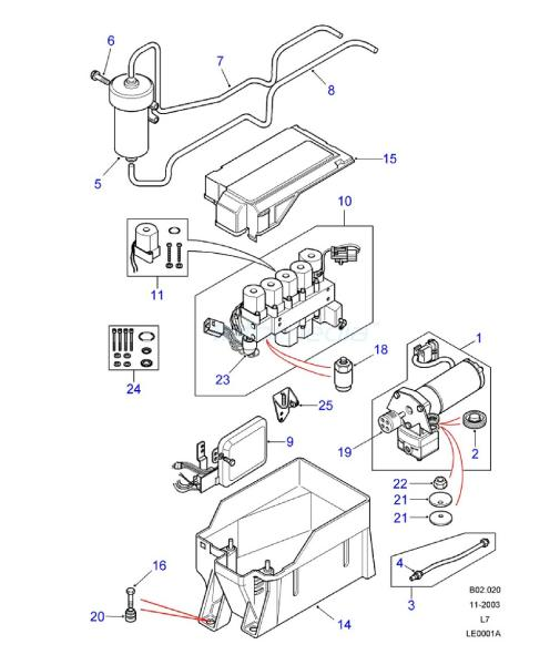 related with 2004 srx engine diagram