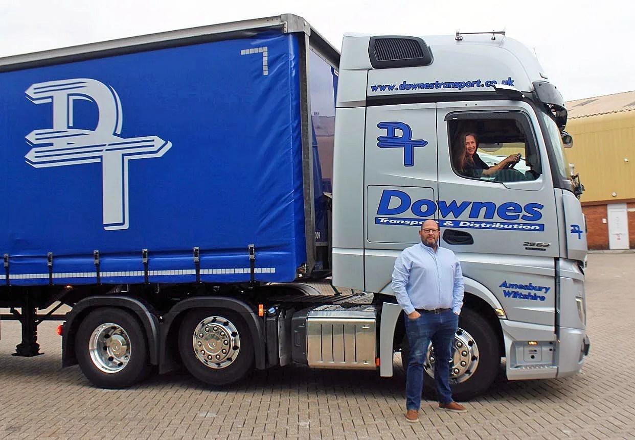 Downes Transport - Caroline Green and Craig Downes