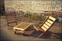 Pallet Furniture Projects  Pallet Garden Chairs with ...