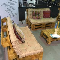 Pallet Furniture Projects  Living Room Pallets Couch Set