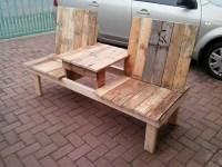 Pallet Wooden Garden Bench | Pallet Furniture Projects.