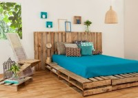 DIY Pallet Bed Plans | Pallet Furniture Projects.