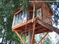 Wood Pallet Tree Houses | Pallet Furniture Projects.