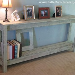 Long Tall Sofa Tables In A Box Argos Pallet Hallway Table Ideas | Furniture Projects.