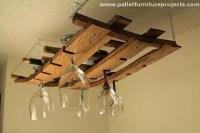 Pallet Hanging Shelves | Pallet Furniture Projects.